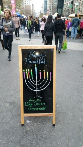 Happy Hanukkah Union Square Market